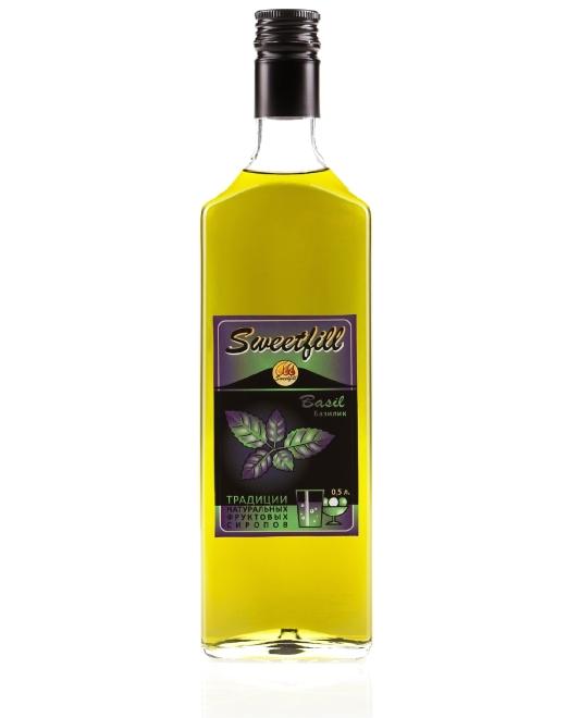 Sweet basil syrup